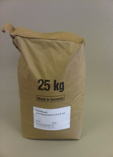 Colour quartz sand 0.4-0.8 mm/25 kg